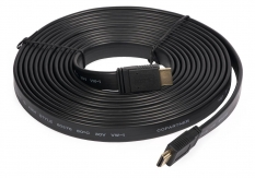 HDMI kábel 5m 28AWG lapos v1.4 High Speed HDMI Cable with Ethernet